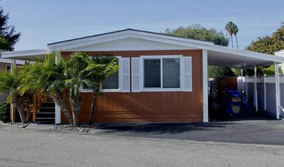 A double wide manufactured home. Remodeled Double Wide for sale in CA (15)
