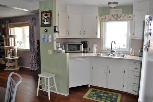 Remodeled Manufactured Home Inspiration - updated kitchen
