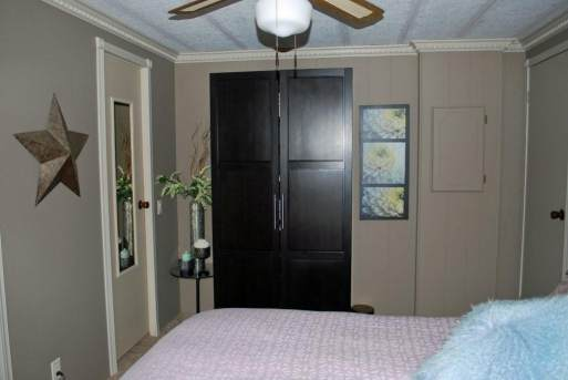 Remodeled manufactured home inspiration - bedroom update