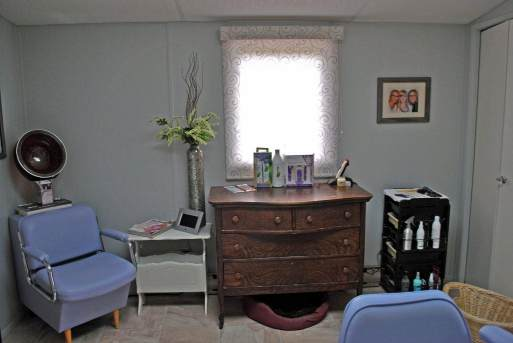 Remodeled Manufactured Home Inspiration - In-home salon built onto a manufactured home