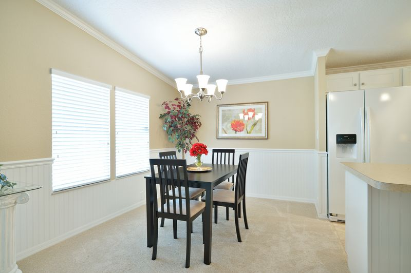 manufactured home makeover-Remodeled Manufactured Homes for sale in Florida_Dining Room
