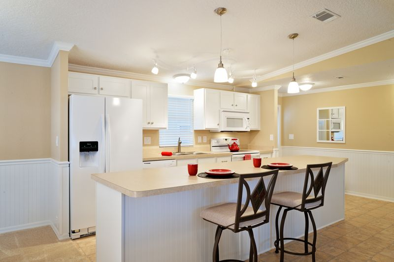 manufactured home makeover-Remodeled Manufactured Homes for sale - Kitchen