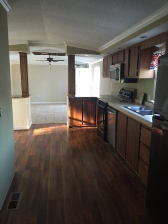Remodeled Single Wide Manufactured Home - Remodeling Ideas - new flooring