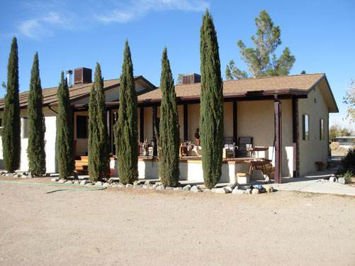 Exterior Mobile Home Remodel: Desert Double Wide - After the Remodel