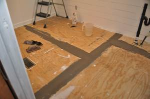 Replacing the Subflooring in a mobile home