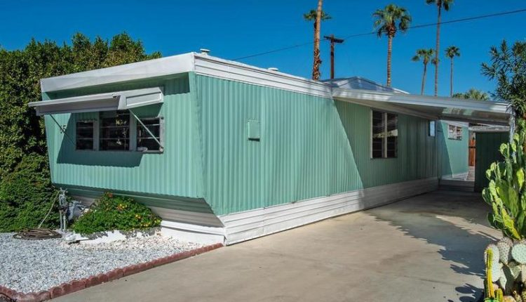 1962 Skyline is a Vintage Mobile Home Beauty - painted siding