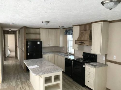 Our favorite manufactured home ads from August 2017 - GA double wide kitchen