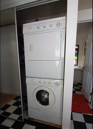 Sensational Single wide decor (laundry area)
