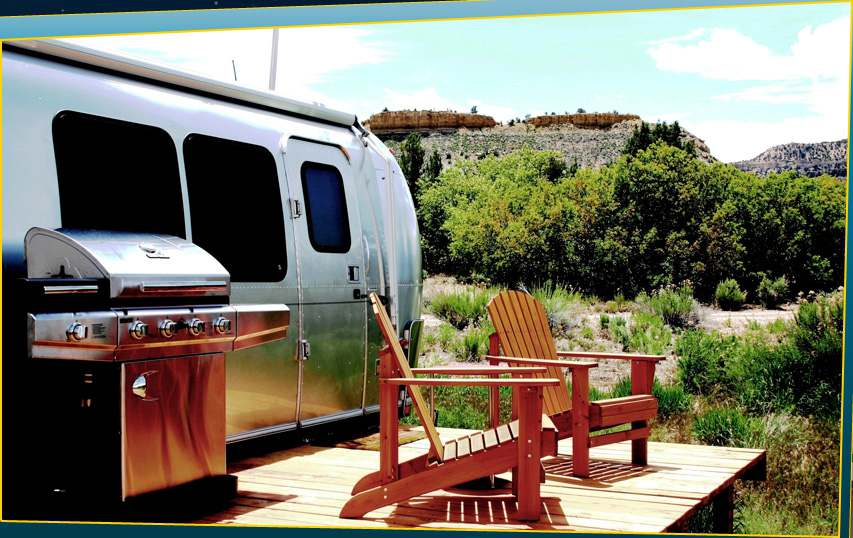 Shooting Star Campground and Airstream Rental Drive In