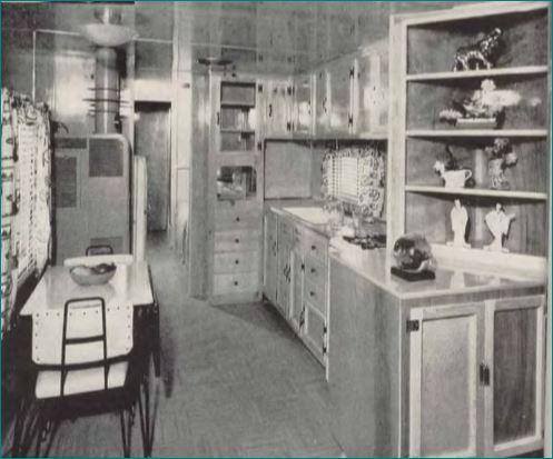 Silver Star Kitchen 1955