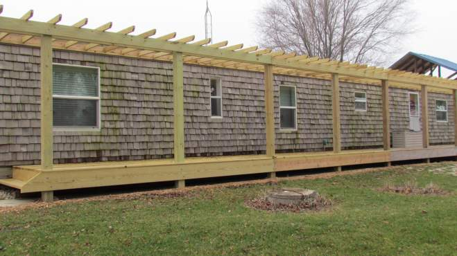 The Whim A Single Wide Exterior Remodel Mobile Home Living