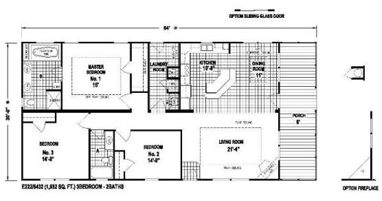 Skyline Manufactured Home Floor Plan Skyranch The Kerr