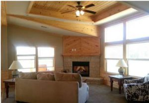 Skyline Manufactured Home Floor Plan - Skyranch - The Kerr - Living Room