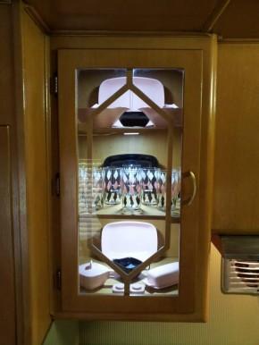 vintage mobile home restoration-Smoker Aritocrat Vintage Mobile Home Interior - Kitchen 8