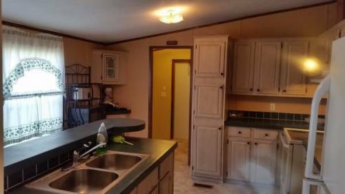 mobile homes for sale in September 2017 - nice double wide in SC - kitchen