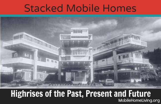 Stacked mobile homes