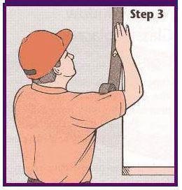 Step Three of replacing mobile home windows - applying fresh putty