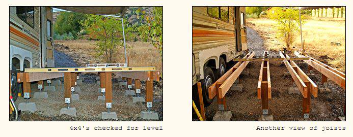 RV deck design - How to design and building a floating deck 3