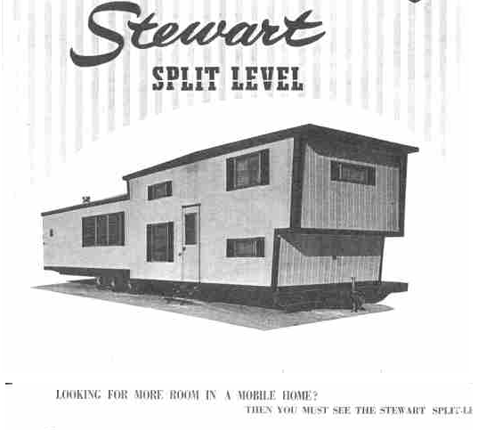 Stewart's 2 Story Mobile Home