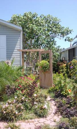 Mobile Homes for Sale - 2001 Clayton Single Wide has a gorgeous garden