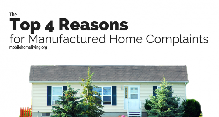 The top 4 reasons for manufactured home complaints - Problems with modular homes ...