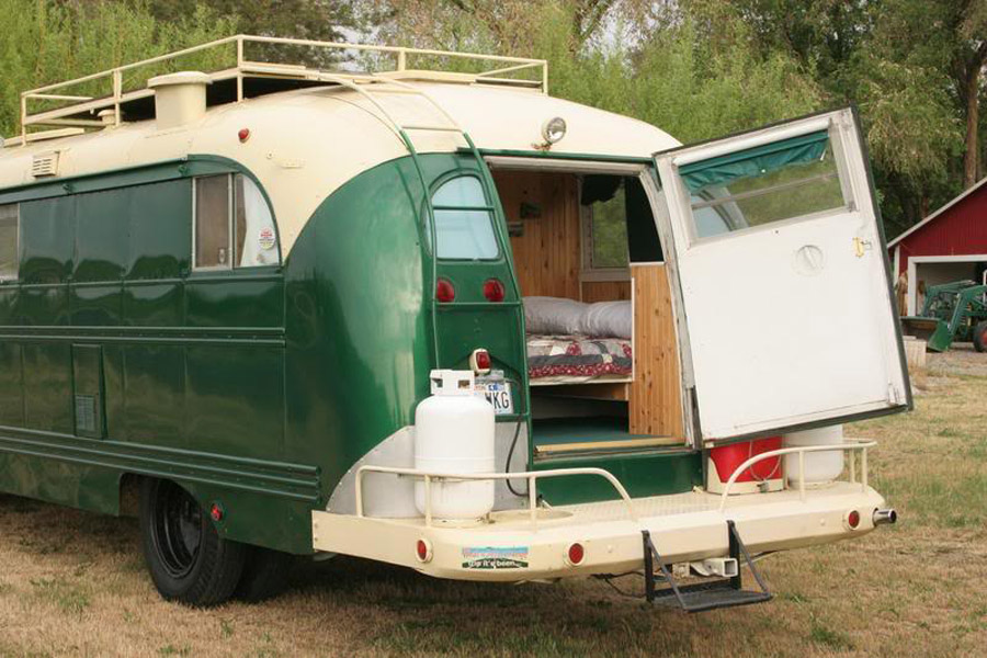 9 Awesome Vintage Buses Converted Into Beautiful Mobile Homes