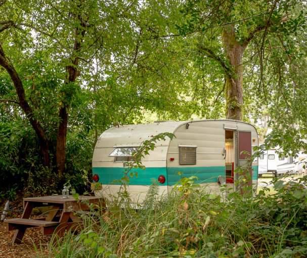 The SouWester Vintage Travel trailer Rentals and Campgrounds