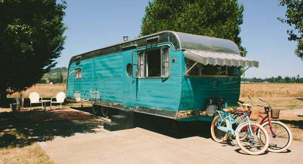 The Vintages - travel trailer rental
