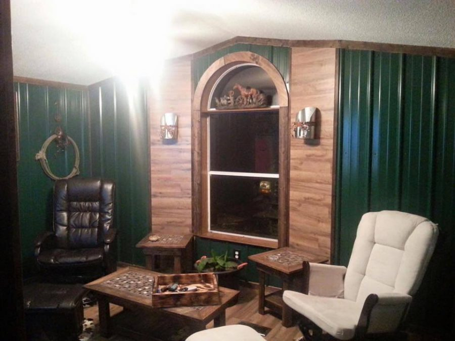 Using Accent Walls in Your Mobile Home - After
