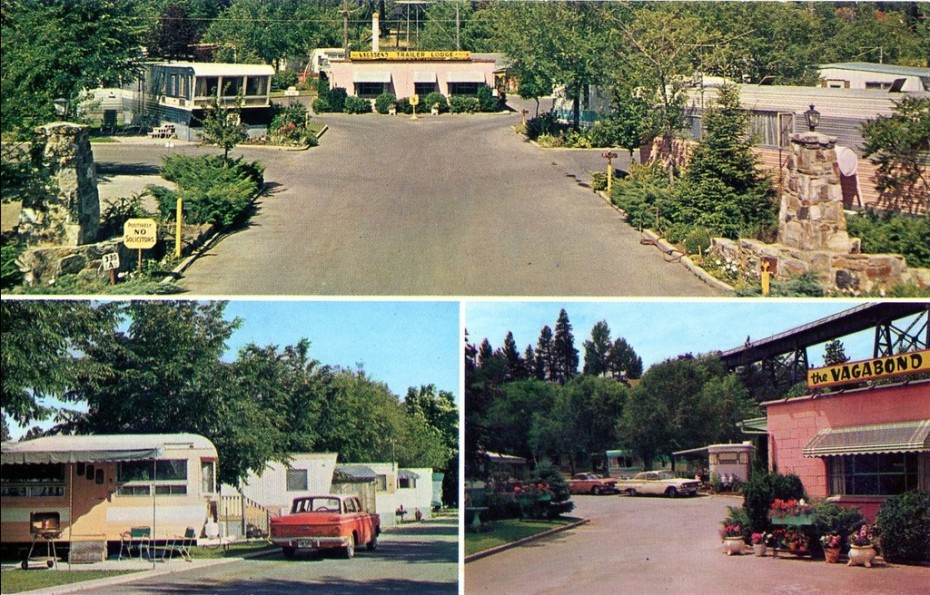 Trailer parks-vagabond trailer lodge spokane wa