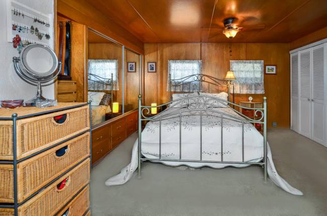 1961 Santa Cruz Single Wide for Sale - original interior decor
