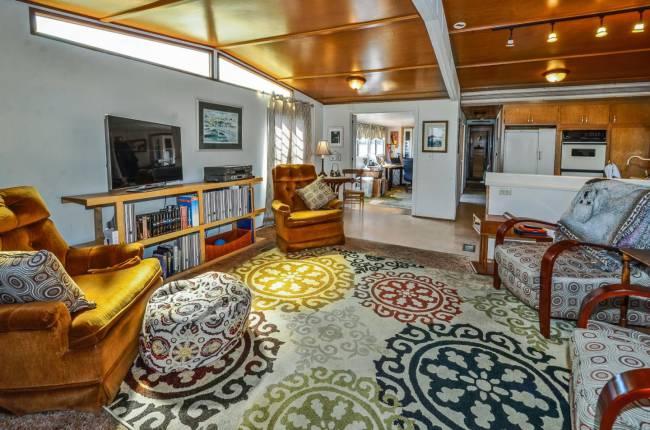 Santa Cruz single wide - Interior vintage style