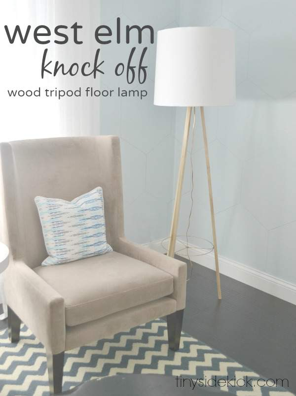 West Elm Knockoff - DIY Lamp Tutorial