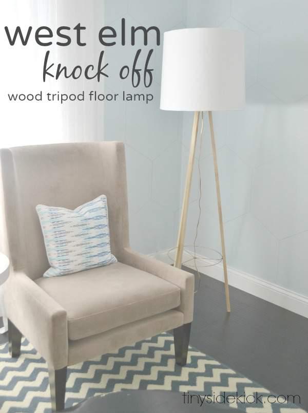 West Elm Knockoff - DIY Lamp Tutorial