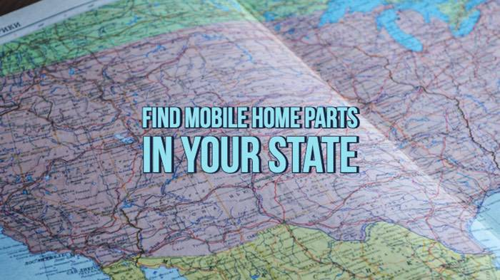 Where to find mobile home parts in your state