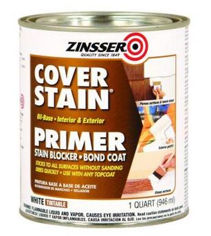 Zinnser Primer to Cover Ceiling Stains