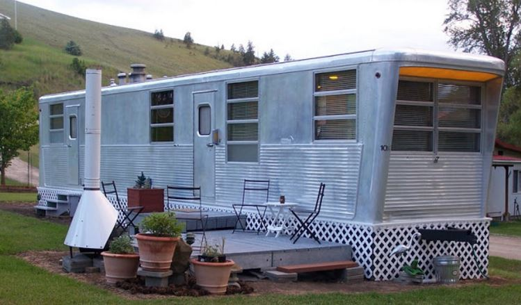a mobile home or manufactured home 1