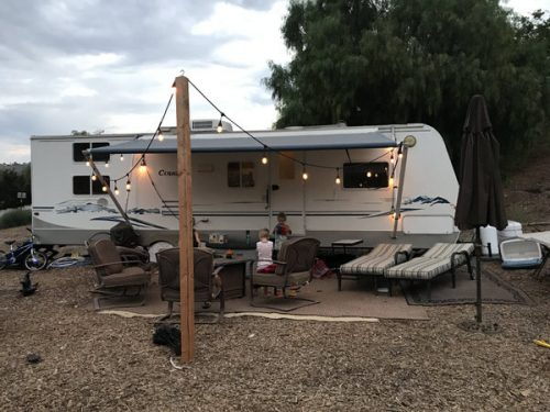 affordable RV renovation-before