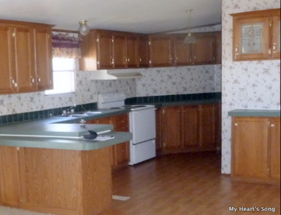 Painting Over Mobile Home Kitchen Cabinets