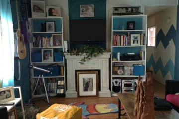 affordable living room decor makeover 2