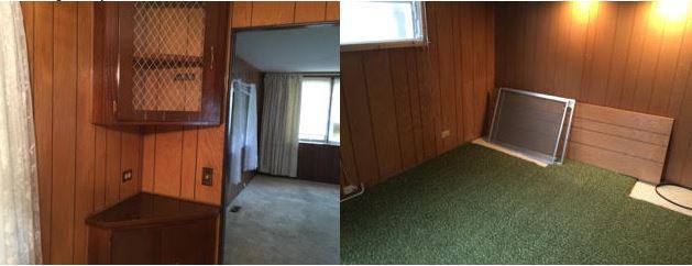 Affordable mobile home remodel - 1968 landola single wide goes retro (home before remodel)