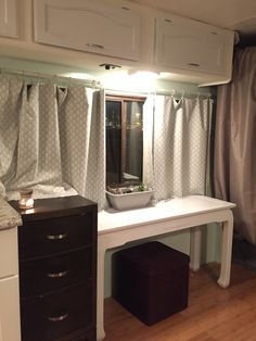 motorhome RV makeover - interior 2