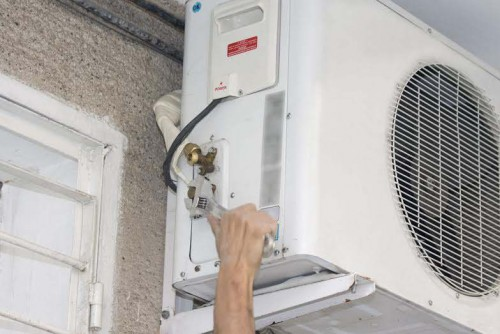 tips for air conditioner maintenance-compressed