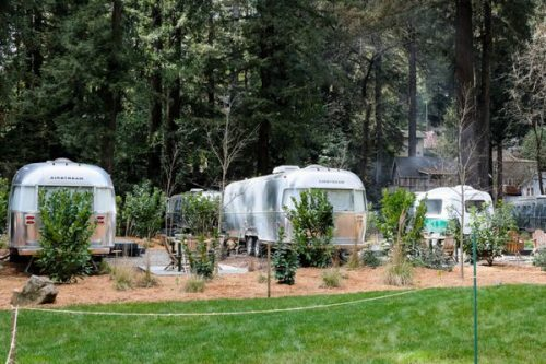 airstream glamping-campground