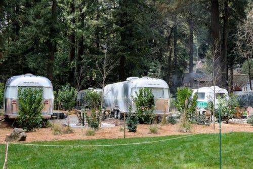 airstream glamping-campground
