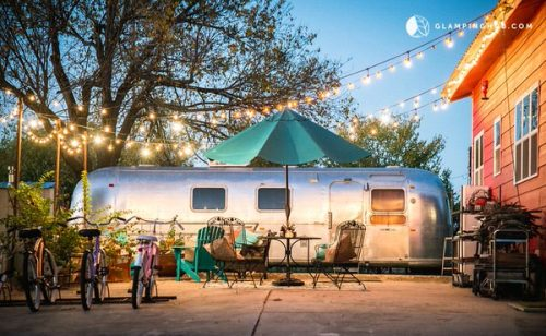 airstream glamping-longhorn state exterior