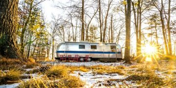 airstream glamping-new york country exterior