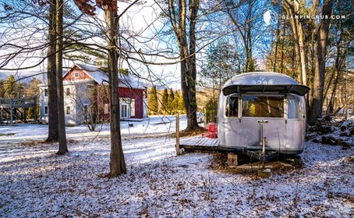 airstream glamping-new york country exterior and barn