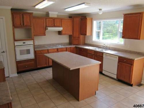 Mobile Homes for Sale - 2004 double wide with 4 acres has a nice kitchen