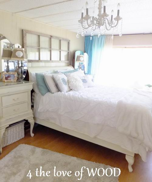 amazing mobile home white bedroom 14